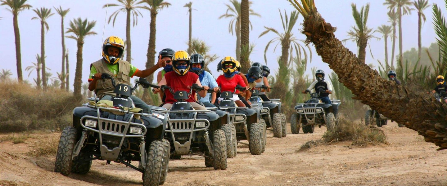 Quad Biking in Marrakech Desert