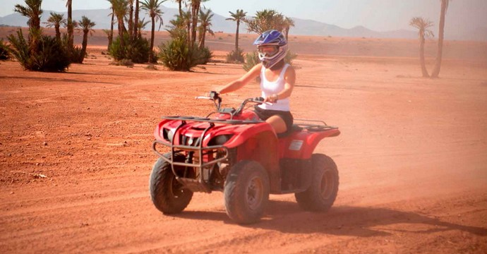 Half Day Quad Biking Palm Grove