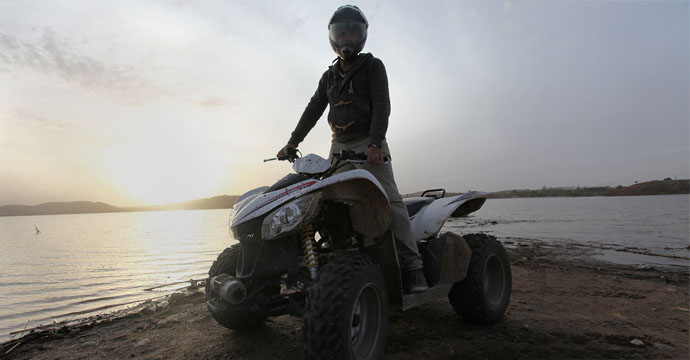 Half Day Quad Biking Takerkoust Lake